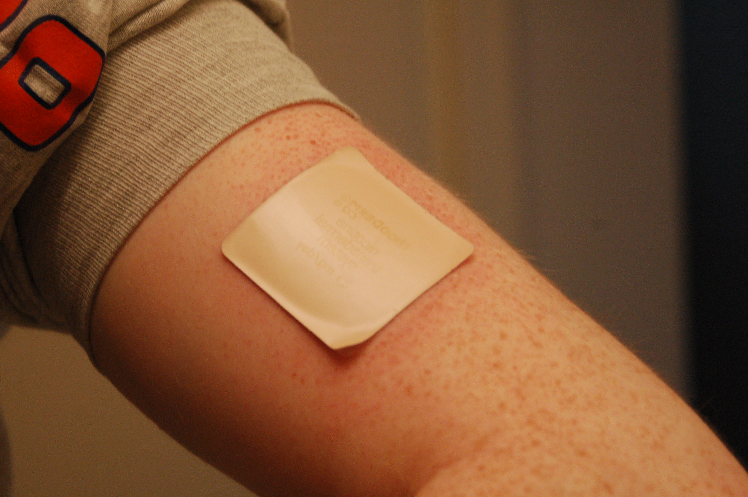 pain patch for athletes